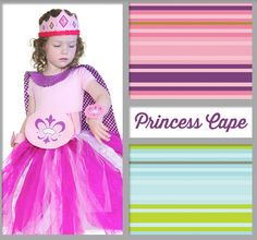 Prinsessencape - Princess Cape Riley Blake Designs - by RBD Designer verkrijgbaar bij http://www.jipps.nl/a-41626127/stofpanels/princess-cape-panel/