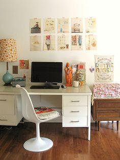 Vintage Inspired Workspace