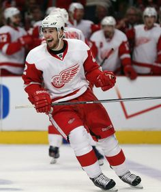 Brendan Smith, Detroit Red Wings, round pick by Wings in Detroit Hockey, Detroit Sports, Hot Hockey Players, Hockey Teams, Sports Teams, Brendan Smith, Red Wings Hockey, Go Red, My Wife Is