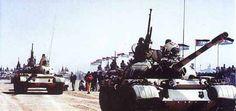 Polisario shows their T-55's.