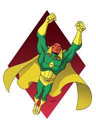 Image result for marvel vision comic strip