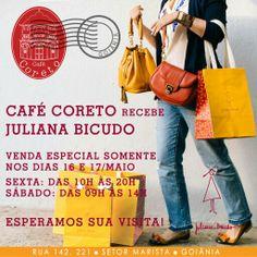 Evento no CAFE CORETO ☆ Rua 142, Setor Marista ☆ (62) 3087-0309 Curta mais : www.zzgoiania.com