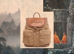 Wearing the Felisi 12/37 backpack and set off to discover ancient temples, deserted beaches, forests and rivers in Cambodia.