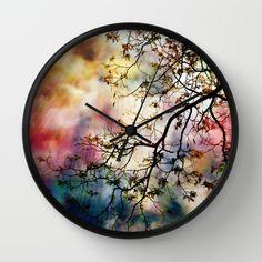 the Tree of Many Colors Wall Clock