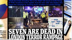 London terror rampage hoax flat earth & Cern