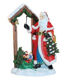 This jolly Santa has his bag of toys ready to deliver as he brings a touch of vintage-inspired charm to your décor. Santa Figurines, Snow Globes, Vintage Inspired, Invitations, Christmas Ornaments, Toys, Holiday Decor, Home Decor, Activity Toys