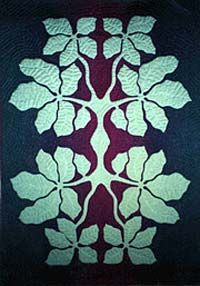 "*Raintree of Hawaii: Olapa pattern - Olapa means ""dancer"". This native tree has dangling leaves that twinkle in the tro"