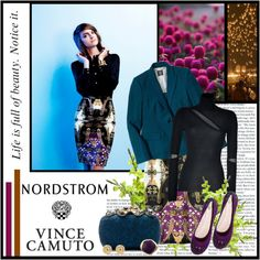 """""""Shine on the Job with Vince Camuto"""" by queenofgoat ❤ liked on Polyvore"""