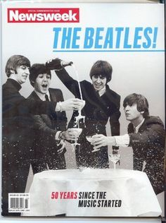 This Beatles sitting round a table with. Art Print is created using state of the art, industry leading Digital printers. Beatles sitting round a table with glasses of champagne Beatles Poster, Les Beatles, Beatles Art, Beatles Photos, Beatles Books, Cinema, British Invasion, The Fab Four, Nouvel An