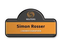 Reuters Name Badge