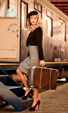 à bord de l'Orient Express...