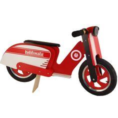 Mini-me Lambretta, really? Love it! #Kiddimoto Scooter
