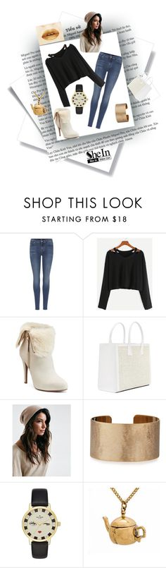 """""""Totally chic"""" by cowgirl2002 ❤ liked on Polyvore featuring 7 For All Mankind, Jennifer Lopez, Panacea and Kate Spade"""