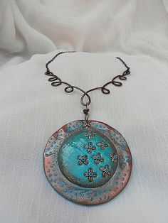 Necklace by JEWELRY FANTASY AND MORE | Polymer Clay Planet