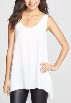Love pairing tunic tops and leggings for a chic relaxed look