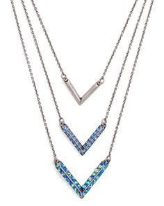 Aztec Goddess Necklace - such pretty blues