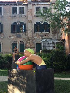 Carole Feuerman, Biennale 2017 Venice