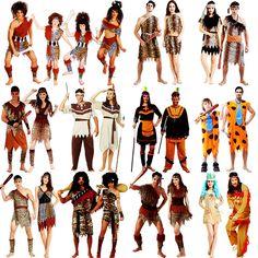 儿童节服装 cos演出衣服成人男女土著原始人印第安豹纹野人服装