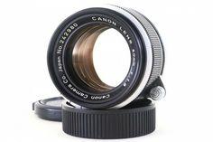 Canon 50mm F1.8 Lens Leica Screw Mount LTM L39 from Japan 242980 MINT- #Canon Canon Lens, Leica, F1, Mint, Samsung, Japan, Japanese, Peppermint