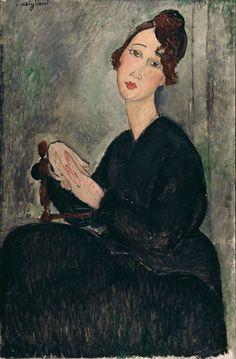 Ritratto di Dèdie, 1918  Modigliani