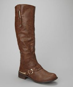 This Brown Pagani Boot is perfect! #zulilyfinds