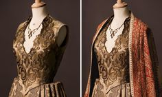 """From """"Game of Thrones"""" worn by Natalie Dormer as Margaery Tyrell design by Michele Clapton"""