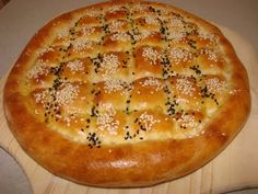 Ramadan time smell of pides wafting into the streets. This recipe will yield the delicious authentic pide made by the bakeries during Ramadan time Pita Recipes, Soup Recipes, Cooking Recipes, Algerian Recipes, Algerian Food, Eastern Cuisine, Ramadan Recipes, Food Articles, Iranian Food