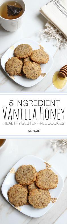 New Dairy Free Cookies Honey Ideas Dairy Free Brownies, Dairy Free Cookies, Gluten Free Chocolate Chip Cookies, Cookies Healthy, Healthy Treats, Healthy Baking, Vegetarian Cookies, Ketogenic Desserts, Vegan Desserts
