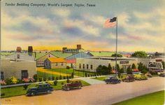 Taylor Bedding Co. (postcard), 1930's.