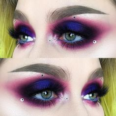 """79 Likes, 5 Comments - @helenesjostedt on Instagram: """"Can you feel the tension?  I used @juviasplace the masquerade palette and the Saharan palette 
