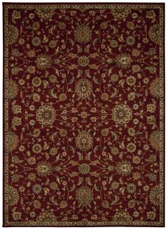 Babylon Red Area Rug