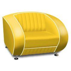 .mcm club lounge chair