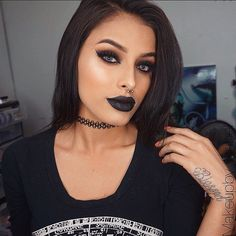 Makeup, Beauty, Hair & Skin | 25 Beauties Who Will Inspire You to Rock a Dark Lip All Fall Long | POPSUGAR Beauty