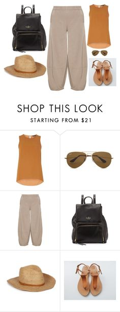 """""""Untitled #40"""" by sousou2578 on Polyvore featuring Dorothy Perkins, Ray-Ban, Kekoo and Kate Spade"""