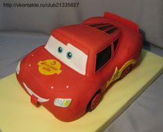 Cars Cake Mcqueen Cake, Cars, Autos, Car, Automobile, Trucks