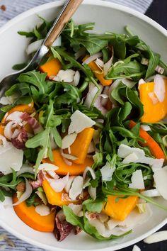 Winter Persimmon Salad @naturallyella