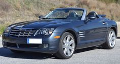 2007 Chrysler Crossfire Limited convertible roadster sports car for sale in Spain (Costa del Sol) Marbella Mijas Costa Malaga Spanish registered left hand drive Chrysler Crossfire Limited cabriolet finished in grey metallic with grey leather interior kms Convertible, Sports Cars For Sale, Chrysler Crossfire, Chrysler Imperial, Cabriolet, Grey Leather, Mopar, Cars And Motorcycles, Classic Cars