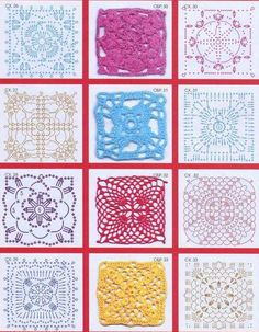 Crochet Stitches Motif : CROCHET LACE MOTIVES, PATTERN on Pinterest Crochet motif, Crochet ...
