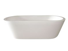 Kado | Lure | Freestanding Oval Bath White