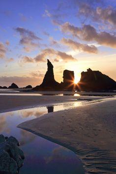 Sunset - Pacific Ocean, Bandon, Oregon