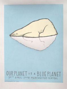 Blue Planet - Polar Bear by Jay Ryan