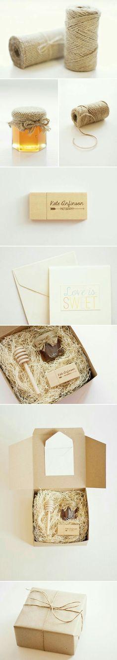 Verpackung Honig