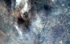 Astronaut Alex Gerst's stunning pictures of Earth from space Chris Hadfield, Tianjin, International Space Station, Earth From Space, Astronaut, China, Pictures, Parking Lot, Fotografia