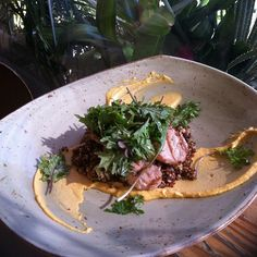 #tgwh - grilled pork loin red quinua baby kale salad