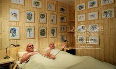 La cabane perchée, Fermez les yeux, et imaginez que vous dormez dans l'une des 90 cabanes représentées en aquarelles sur tous les murs de votre chambre. Dormir comme un oiseau c'est unique !  Hôtel Edgar à Paris, 31 rue d'Alexandrie, 75002, Paris www.edgarhotel.com