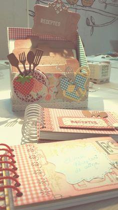 Recetario cocina scrapbook