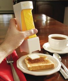 Love this idea, no more crumbs in the butter