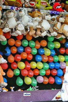 Vintage Circus Inspiration : Pop Balloon & Win a Prize Street Fair, Country Fair, Carnival Rides, Fun Fair, Happy Trails, Circus Party, Vintage Circus, My Childhood Memories, 90s Kids