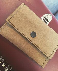 Mini Geldbörse ☺️#diy#nähenisttoll#SnapPap#potd#selfmade