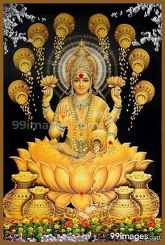 Lakshmi is the Hindu god of wealth, fortune & prosperity and also the wife of Lord Vishnu. Here is a collection of Goddess Lakshmi Images & HD wallpapers. Hindu Art, Indian Goddess, Goddess Lakshmi, Oya Goddess, Indiana, Lakshmi Images, Lakshmi Photos, Lord Shiva Family, Spirituality